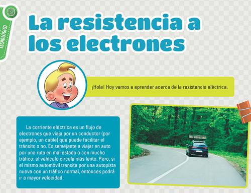 La resistencia a los electrones – Abril 2016