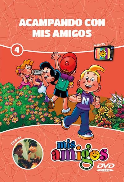 DVD Mis Amigos: Acampando con Mis Amigos