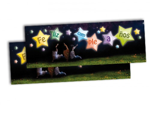 Tarjeta de cumpleaños: Estrellas