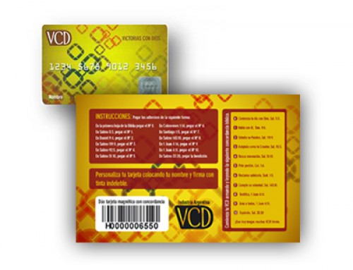 VCD – Dúo tarjeta concordancia
