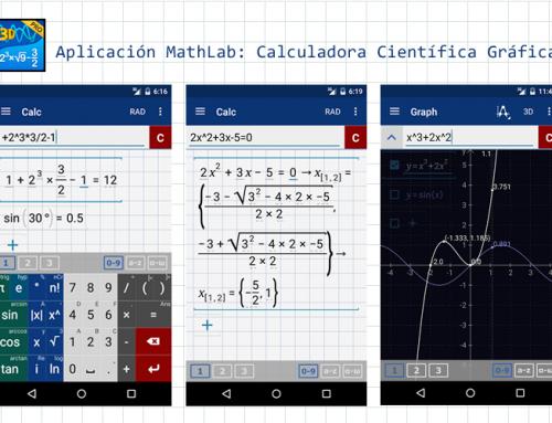 MathLab, una calculadora científica gráfica en tu teléfono