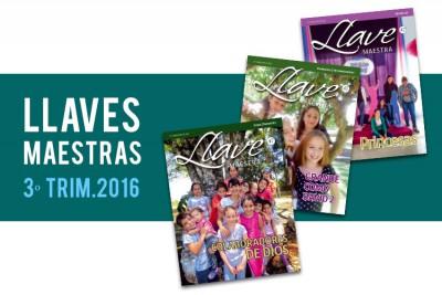 Llaves maestras – 3º trimestre 2016