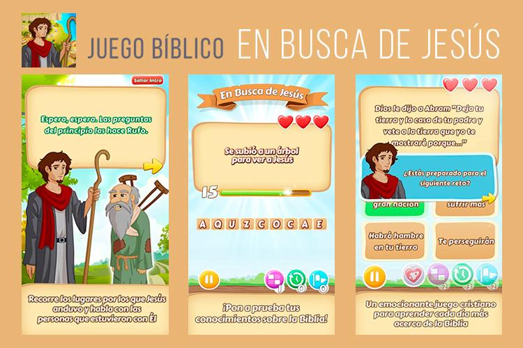 Aplicación En busca de Jesús