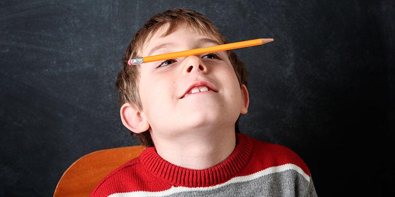 Alumno con hiperactividad