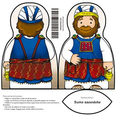Muñeco bíblico: sumo sacerdote