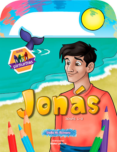 Serie Pinturitas para colorear: Jonás