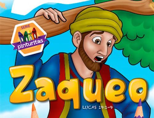 Serie pinturitas: Zaqueo