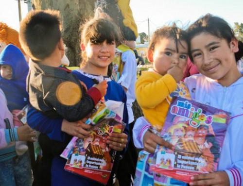 Revista Mis Amigos presente en el Día del Niño