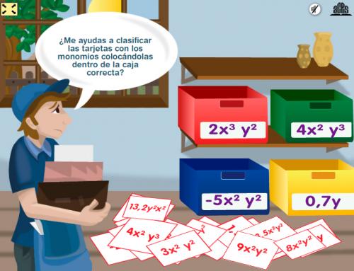 Matemática 1 – Clasificación de Monomios