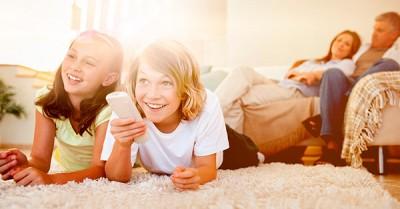 Cómo aprovechar la televisión en casa