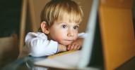 tecnología en los niños pequeños - twitter