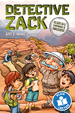 Detective Zack: Peligro en el campamento de dinosaurios