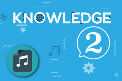 Audio tracks – Knowledge 2