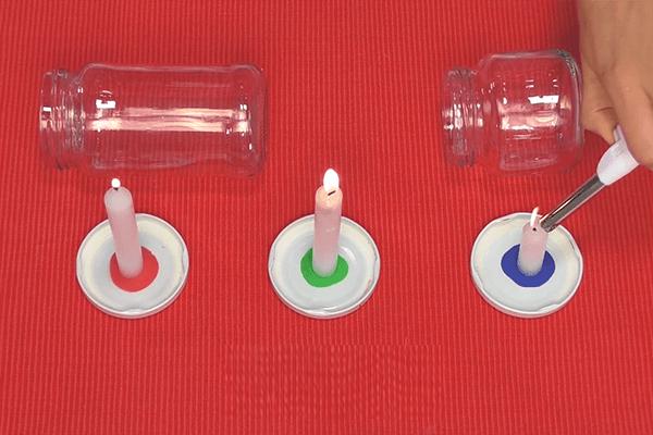 Experimento: Oxígeno para velas +6 Ciencias Naturales
