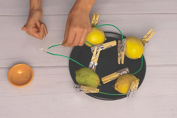 Experimento: Limones eléctricos +6 Ciencias Naturales