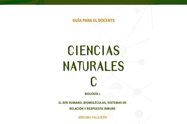 Guía docente - Ciencias Naturales C: El ser humano