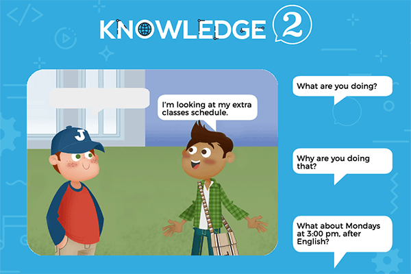 Communication Sheet 2 – Knowledge 2