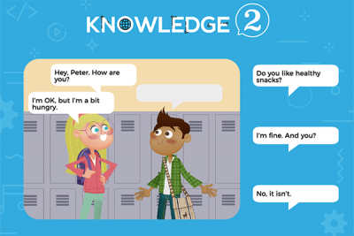 Communication Sheet 1 – Knowledge 2