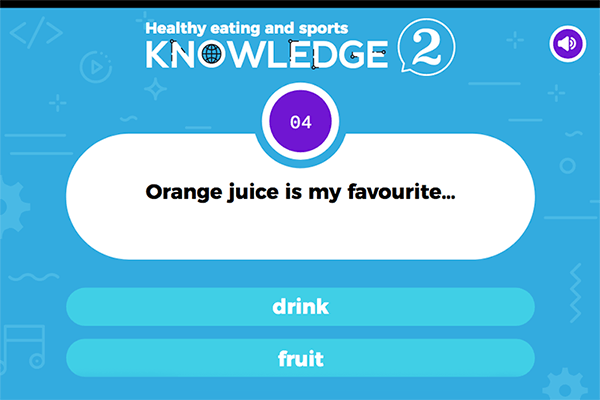 Healthy eating and sports - Knowledge 2