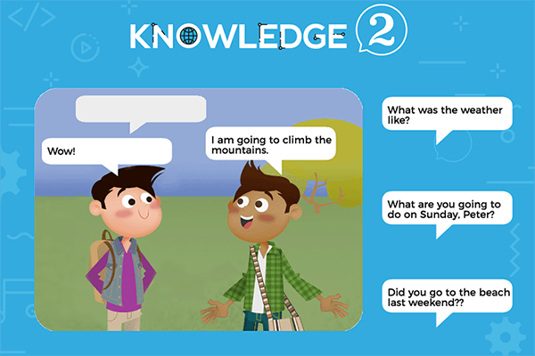 Communication Sheet 4 – Knowledge 2