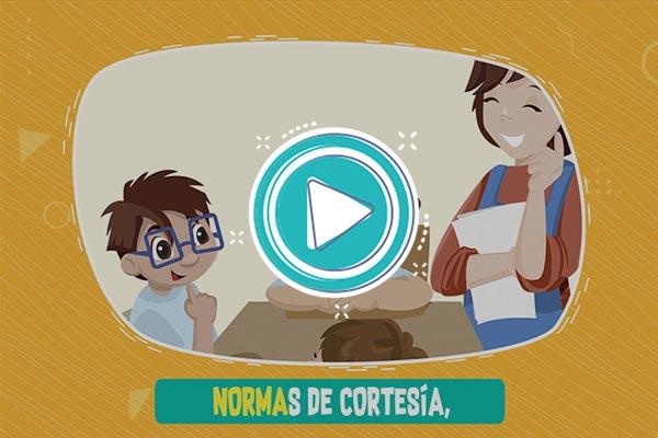 Videoclip: Normas de cortesía - Supercuriosos 2