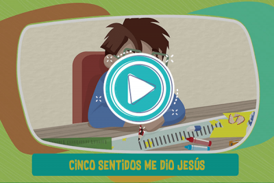 Videoclip: Cinco sentidos - Supercuriosos 1
