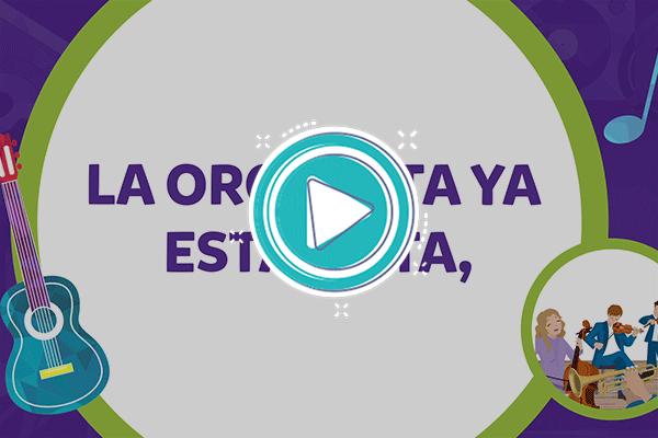 Videoclip: La orquesta - Música 2