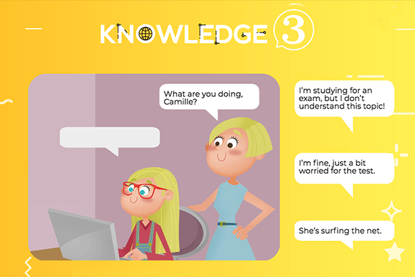 Communication sheet 1 – Knowledge 3