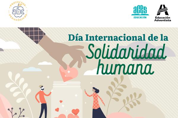 Proyecto pedagógico – Día Internacional de la Solidaridad