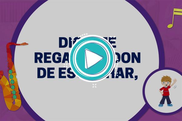 Videoclip: Un mundo por oír - Música 3