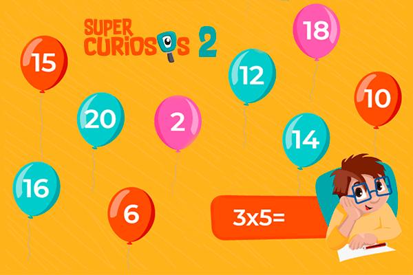 Multipliquemos por 2 y 3 - Supercuriosos 2