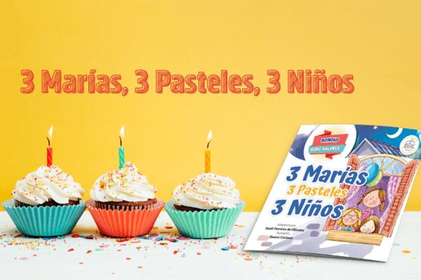 Proyecto de lectura - 3 Marías, 3 pasteles, 3 niños