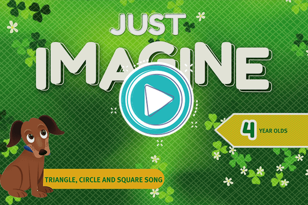 Videoclip: Triangle, circle and square song - Just Imagine 4