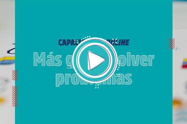 Capacitación online «Más que resolver problemas» – Nivel Primario
